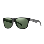 Smith Lowdown Polarized Sunglasses, Matte Black-Polarized Brown Gray Green, medium