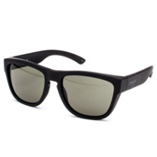 Smith Clark Sunglasses, Matte Black-Gray Green Carbonic, medium