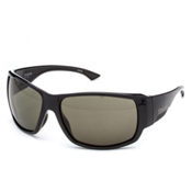 Smith Dockside ChromaPop Sunglasses, Black-Polar Gray Green ChromaPop, medium