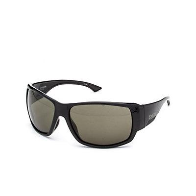Smith Dockside ChromaPop Sunglasses, Black-Polar Gray Green ChromaPop, viewer