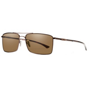 Smith Outlier TI ChromaPop Sunglasses, Matte Brown-Polar Brown ChromaPop, medium
