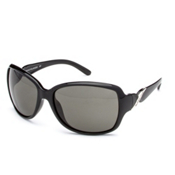 SunCloud Weave Sunglasses, Black-Gray Polarized, medium
