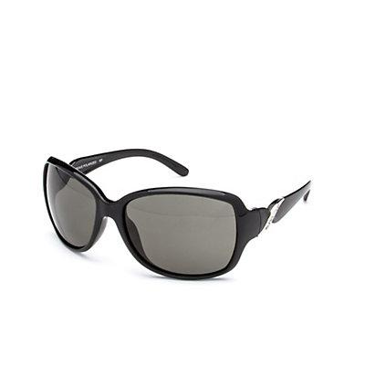 SunCloud Weave Sunglasses, Black-Gray Polarized, viewer