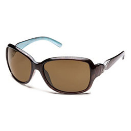 SunCloud Weave Sunglasses, Tortoise Backpaint-Brown Polarized, 256