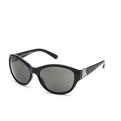 SunCloud Twilight Sunglasses, Black-Gray Polarized, viewer