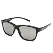 SunCloud Pageant Sunglasses, Black-Gray Polarized, medium