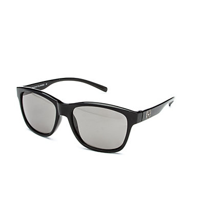SunCloud Pageant Sunglasses, Black-Gray Polarized, viewer