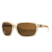 SunCloud Blossom Sunglasses, Ivory-Brown Polarized, medium
