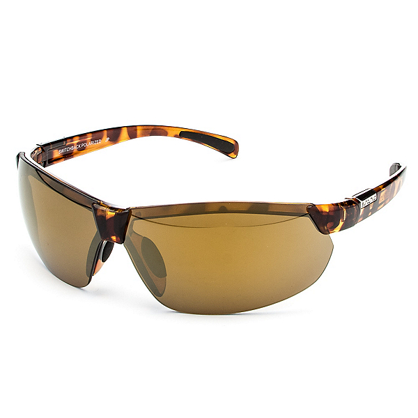 SunCloud Switchback Sunglasses, Tortoise-Sienna Mirror Polarized, 600