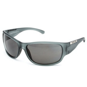 SunCloud Convoy Sunglasses, Matte Gray-Gray Polarized, medium