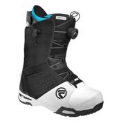 Flow Helios Hybrid Coiler Snowboard Boots, Black-White, medium