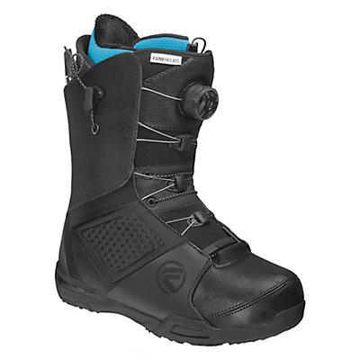 Flow Helios Hybrid Coiler Snowboard Boots, Black-White, viewer
