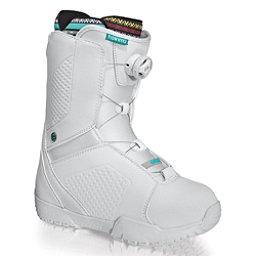 Flow Hyku Boa Womens Snowboard Boots, White, 256