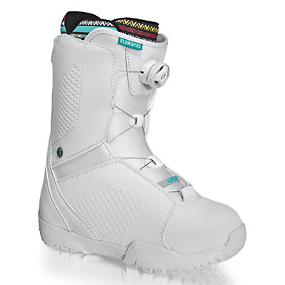 Flow Hyku Boa Womens Snowboard Boots, White, viewer