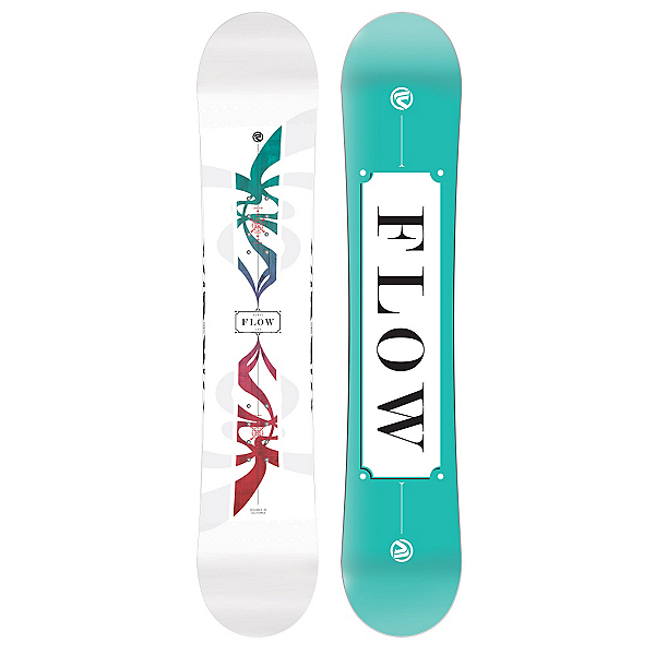 Flow Venus White Womens Snowboard, , 600