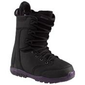 Burton Sapphire Womens Snowboard Boots, Black-Black, medium