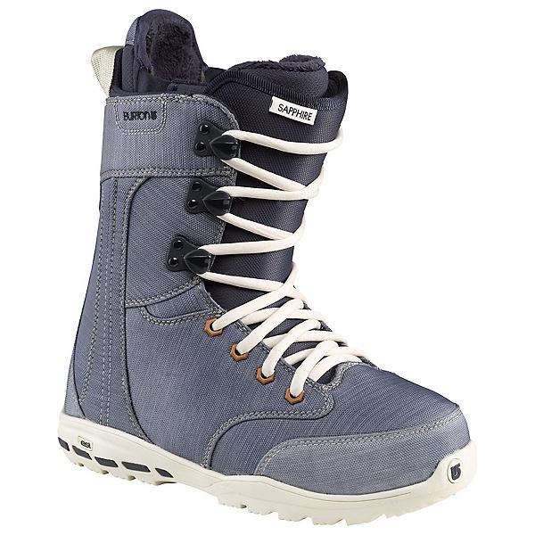 Burton Sapphire Womens Snowboard Boots, R Denim, 600