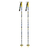 Line Whip Ski Poles, Yellow, medium
