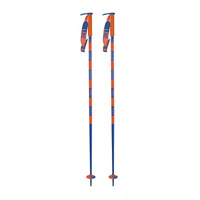 Line Pin Ski Poles, Blue, viewer