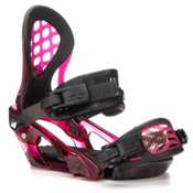 Ride KS LTD Womens Snowboard Bindings, Garnet, medium