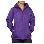 Zonal Tavern Womens Insulated Snowboard Jacket, Purple, medium