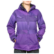 Zonal Surface Womens Insulated Snowboard Jacket, Purple, medium