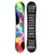 Ride Compact Womens Snowboard, 153cm, medium