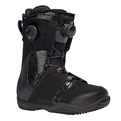 Ride Hera Boa Coiler Womens Snowboard Boots, Black-Tan, viewer