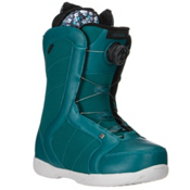 Ride Sage Boa Coiler Womens Snowboard Boots 2016, Teal, medium
