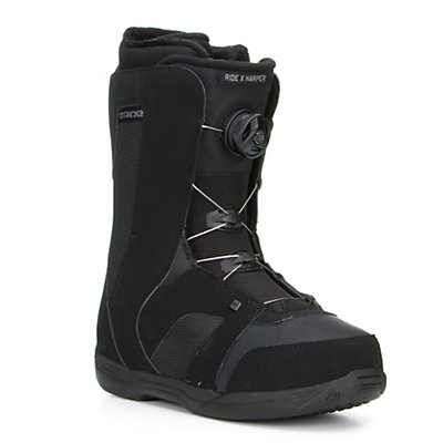 Ride Harper Boa Womens Snowboard Boots, Black, viewer