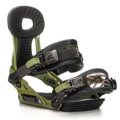 Ride Phenom Kids Snowboard Bindings, Green, medium