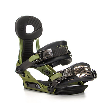 Ride Phenom Kids Snowboard Bindings, Green, viewer