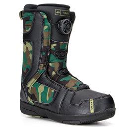 Ride Spark Boa Kids Snowboard Boots, Black, 256
