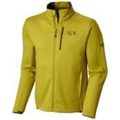 Mountain Hardwear Arlando Mens Mid Layer, Python Green, medium
