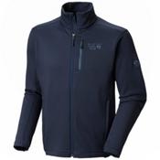 Mountain Hardwear Arlando Mens Mid Layer, Zinc, medium