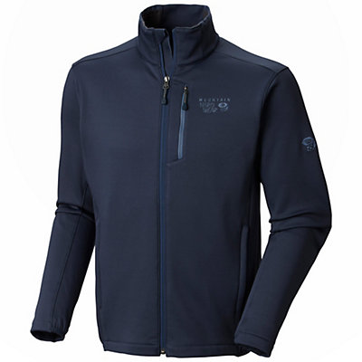 Mountain Hardwear Arlando Mens Mid Layer, Collegiate Navy, viewer