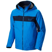 Mountain Hardwear Compulsion Mens Shell Ski Jacket, Hyper Blue-Collegiate Navy, medium