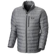 Mountain Hardwear Debark Down Mens Jacket, Shark, medium