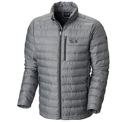 Mountain Hardwear Debark Down Mens Jacket, Zinc, viewer