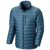 Mountain Hardwear Debark Down Mens Jacket, Zinc, medium