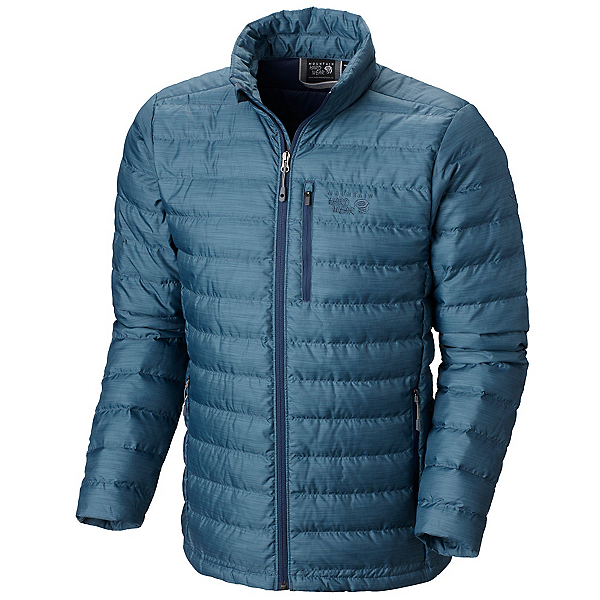 Mountain Hardwear Debark Down Mens Jacket, Zinc, 600