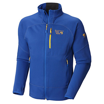 Mountain Hardwear Desna Full Zip Fleece Mens Jacket, Azul, viewer