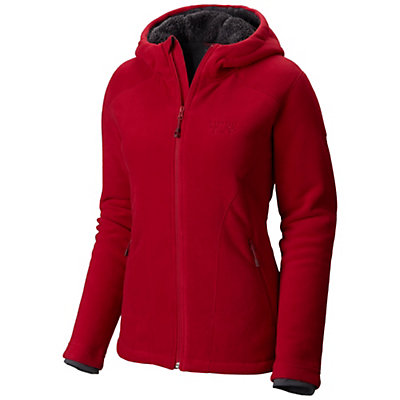Mountain Hardwear Dual Fleece Hooded Womens Jacket, Aristocrat, viewer
