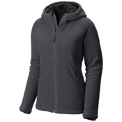 Mountain Hardwear Dual Fleece Hooded Womens Jacket, Graphite, medium