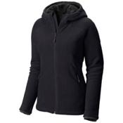 Mountain Hardwear Dual Fleece Hooded Womens Jacket, Black, medium