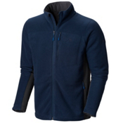 Mountain Hardwear Dual Fleece Mens Jacket, Collegiate Navy, medium