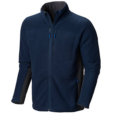 Mountain Hardwear Dual Fleece Mens Jacket, Collegiate Navy, viewer