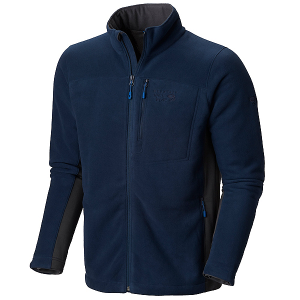 Mountain Hardwear Dual Fleece Mens Jacket, Collegiate Navy, 600