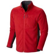 Mountain Hardwear Dual Fleece Mens Jacket, Rocket, medium