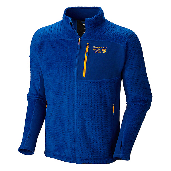 Mountain Hardwear Hoodless Monkey Man Grid Mens Jacket, Azul, 600